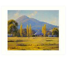 Autumn In Tumut, nsw Art Print