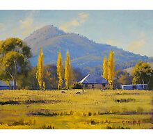 Autumn In Tumut, nsw Photographic Print