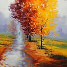 Wet Fall Day by Graham Gercken