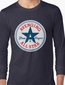 Avenging All Star (Tri-Color) Long Sleeve T-Shirt