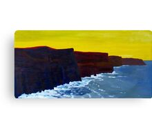 Cliffs of Moher 1 Canvas Print