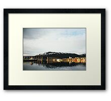 Tromsø Bridge, Norway Framed Print