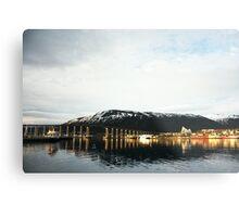 Tromsø Bridge, Norway Metal Print