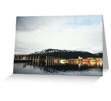 Tromsø Bridge, Norway Greeting Card