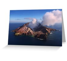 Scratch one from the bucket list - White Island  New Zealand Greeting Card