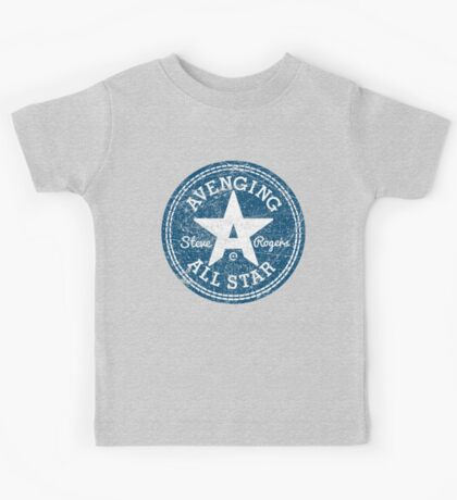 Avenging All Star (Two-Color Distressed) Kids Tee