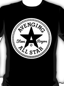 Avenging All Star (White) T-Shirt