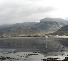 Ben Nevis View From Camusnagaul Ferry by Samuel Shelton