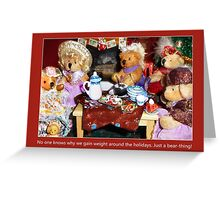 Tea at Tabitha's Greeting Card