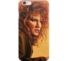 Bette Midler painting iPhone Case/Skin