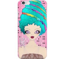 Ester the Easter Egg Lady iPhone Case/Skin
