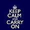 Keep Calm and Carry On by CarryOn