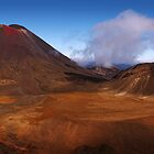 Land of Mordor - Tongariro Crossing  New Zealand by Mark Shean