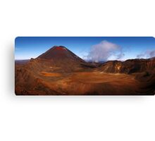 Land of Mordor - Tongariro Crossing  New Zealand Canvas Print