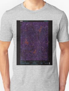 USGS TOPO Map New Hampshire NH Deering 329519 1998 24000 Inverted T-Shirt