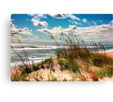 FALL DAY AT THE BEACH Canvas Print