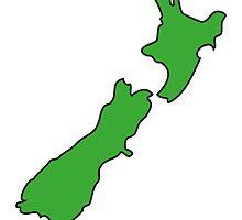 NZ Kia Ora by Brian Gibbs
