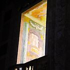 OPORTO CATHEDRAL WINDOW by Sue Ballyn