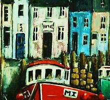 Smugglers Row Zoom 4 by Kaye Miller-Dewing