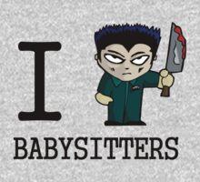 I Micheal Babysitters Kids Tee