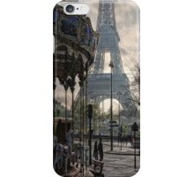 manège parisienne iPhone Case/Skin