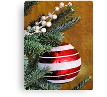 Hanging Around for the Holidays Canvas Print