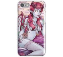 60s Demon Girl Pinup iPhone Case/Skin