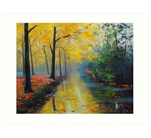 Golden Reflections Art Print