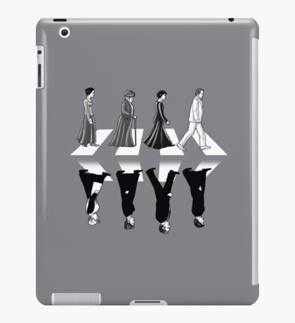 Downton Abbey Road iPad Case/Skin