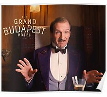The Grand Budapest Hotel : M. Gustave Poster
