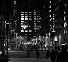 Martin Place - In Black n White by YourHum