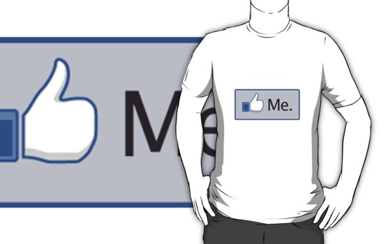 Facebook 'Like Me' Shirt by Benjamin Janssens