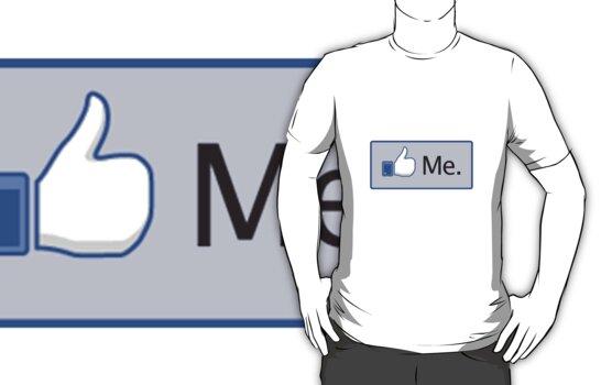 Facebook 'Like Me' Shirt by Benjamin Janssens