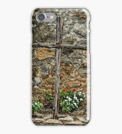 Wooden Cross iPhone Case/Skin