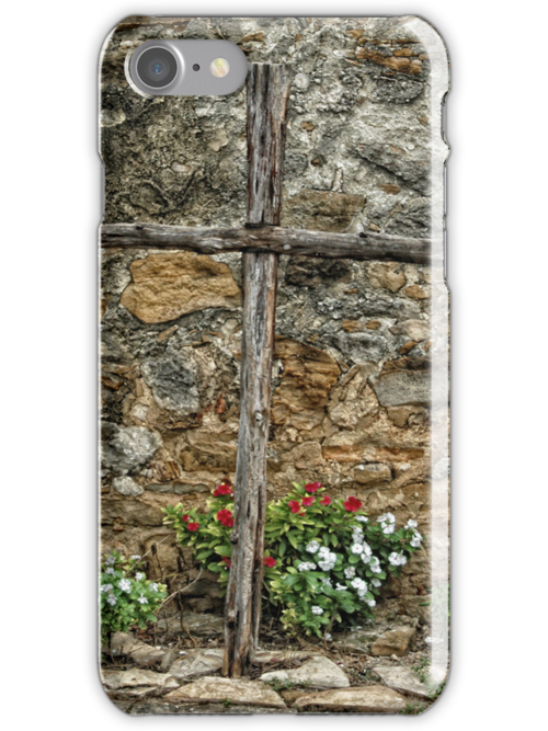Wooden Cross by Colleen Drew