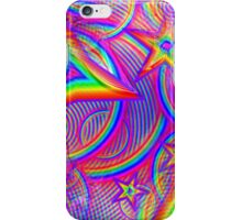 Vaporwave-Rainbow Geometry iPhone Case/Skin