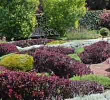 The Herbal Knot Garden at Filoli Sticker