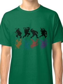 Heroes in a half tone Classic T-Shirt