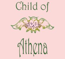 Child of Goddess Athena Greek Demigod Wisdom by frogcreek