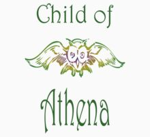 Child of Goddess Athena Greek Demigod Wisdom Kids Clothes