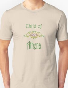 Child of Goddess Athena Greek Demigod Wisdom T-Shirt