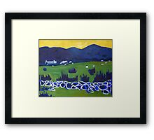 The Cottage Framed Print