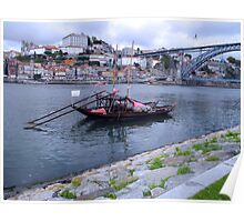 OPORTO:PORT BARGE Poster