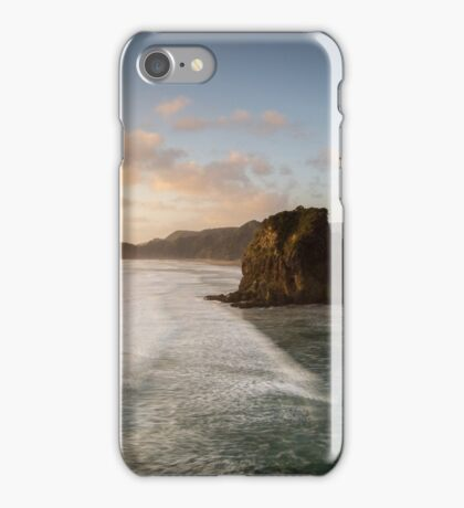 View from the top , Piha iPhone Case/Skin