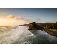 View from the top , Piha Photographic Print
