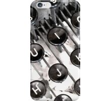Typewriter iPhone Case/Skin