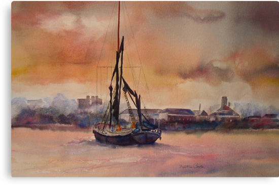 At rest on the Thames by Beatrice Cloake