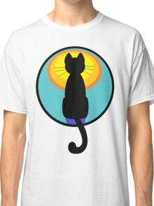 Sunrise Sunset Cat Classic T-Shirt