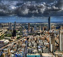 Tel Aviv Love by Ronsho