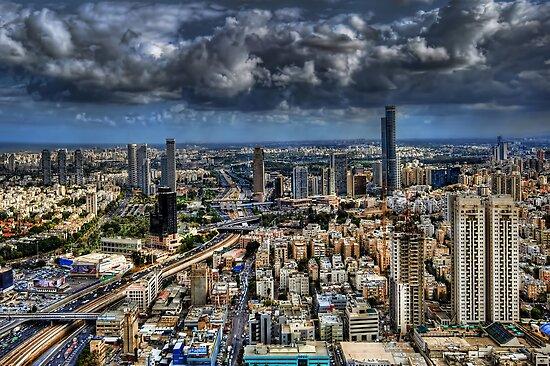 Tel Aviv Love by Ronsho